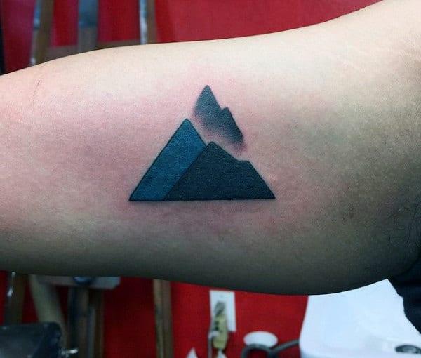 Mountains Small Tattoo Ideas For Men