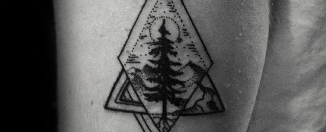 Small Tree Tattoos For Men