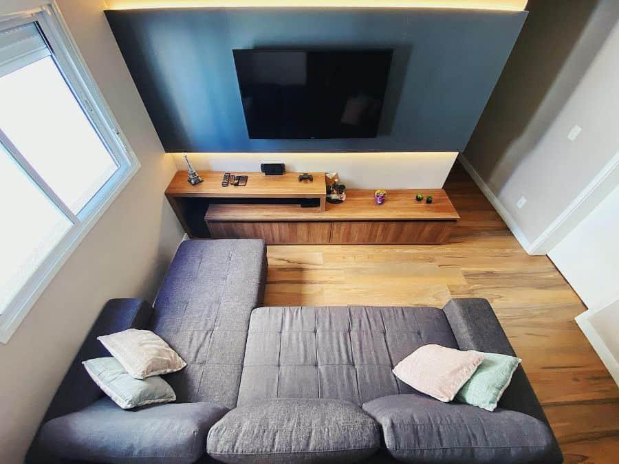 small tv room ideas apartamento_65b