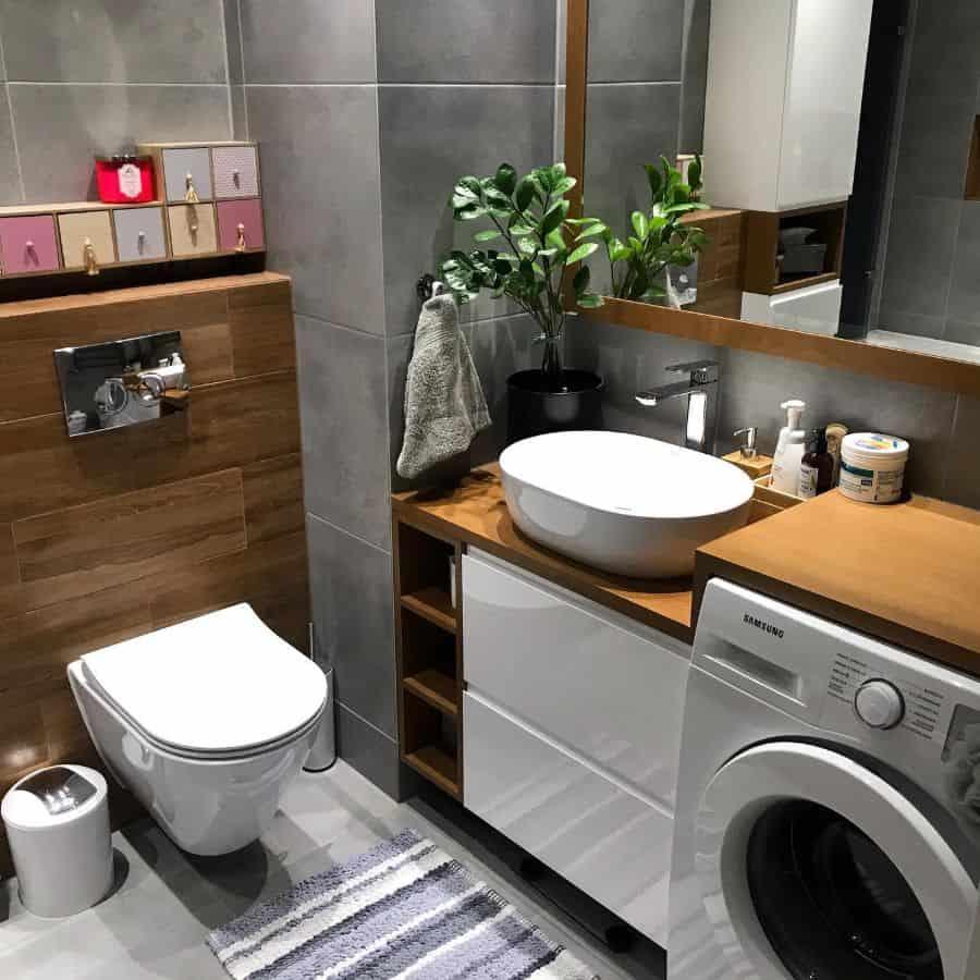 Small Vanity Tiny Bathroom Ideas Magdas Place