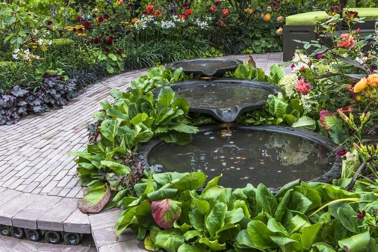 Small Water Feature Backyard Waterfall