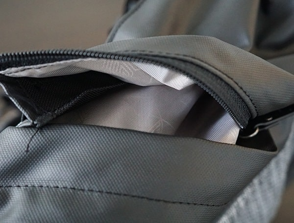 Smarter Than Most Myth Backpack Unzipped Side Pockets