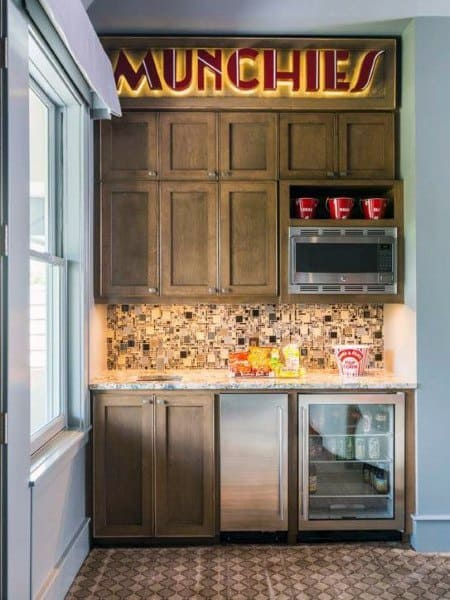 Snack Wet Bar Ideas For Home