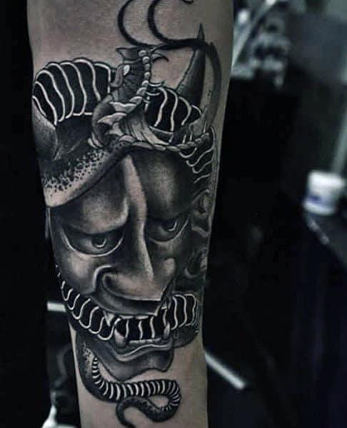 56228d324 70 Snake Tattoos For Men - Venomous Bite Of Idea Inspiration