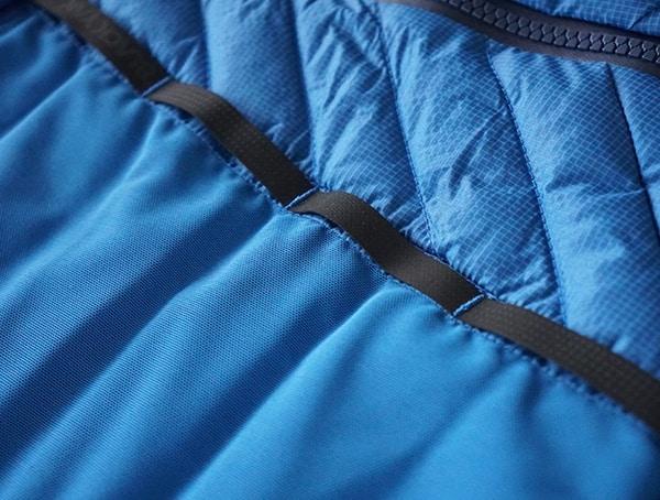 Snorkel Blue Down Blackyak Bakosi Mens Jacket