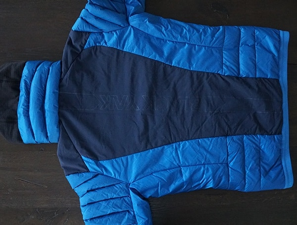 Snorkel Blue Mens Blackyak Bakosi Jacket Back