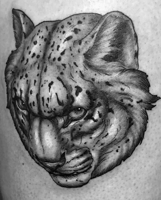 Snow Leopard Guys Tattoos