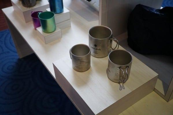 Snow Peak Titanium Camping Cups