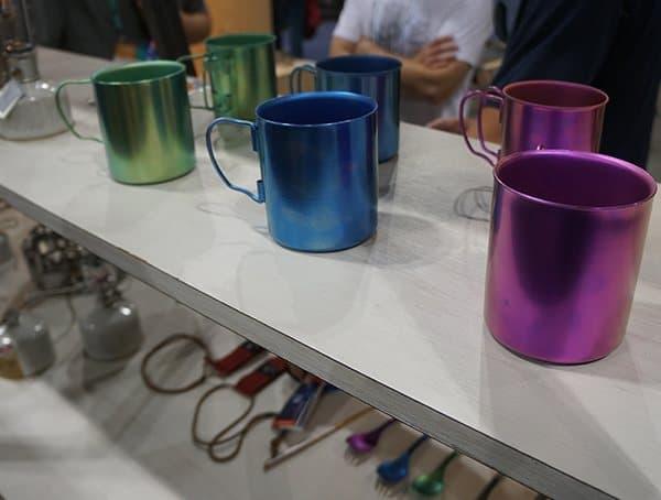 Snow Peak Titanium Coffee Mugs For Camping