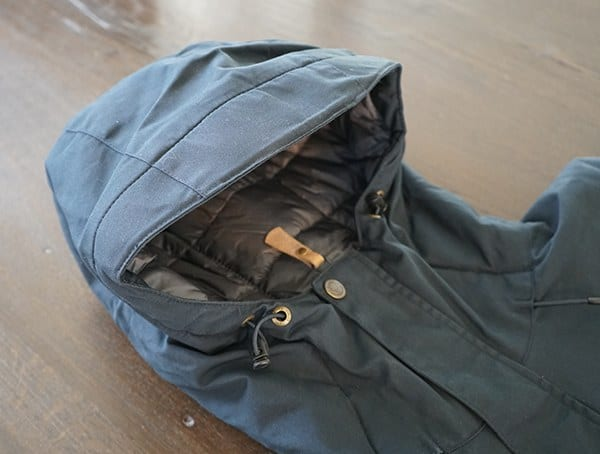 Snug Fitting Fjallraven Skogso Padded Jacket Hood