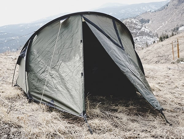 Snugpak Scorpion 3 Tent Field Tested Door Entrance