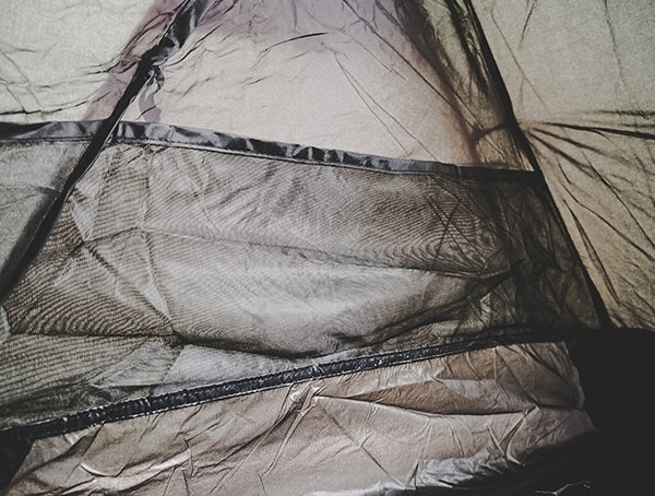Snugpak Scorpion 3 Tent Field Testing Storage Net