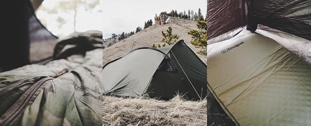 Snugpak Scorpion 3 Tent Sf1 Sleeping Bag And Basecamp Ops Inflating Xl Mat Review