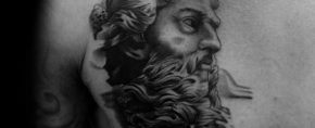 30 Socrates Tattoo Designs For Men – Philosopher Ink Ideas