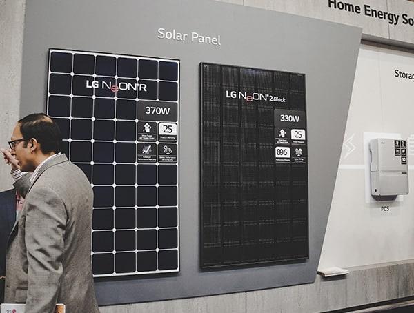 Solar Panel Lg 2019 Nahb Show