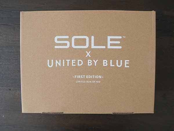 Sole X United By Blue First Edition Shoes
