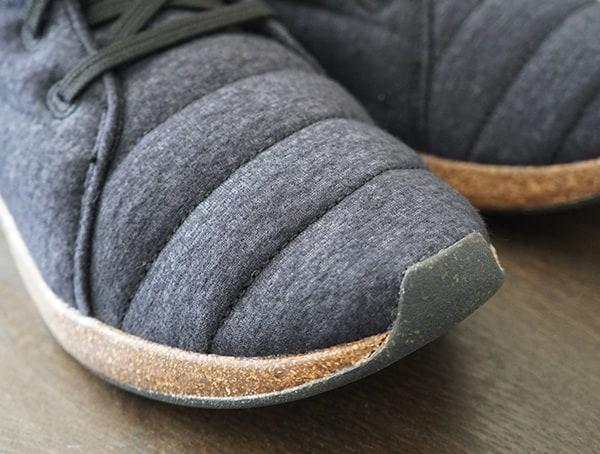 Sole X United By Blue Jasper Wool Eco Chukka Boot Toe Detail