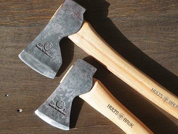 Solid Swedish Carbon Steel Head Hults Bruk Akka Forester Axe And Jonaker Hatchet