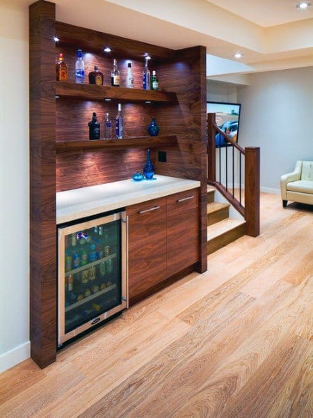 Solid Wood Design Mini Bar Ideas