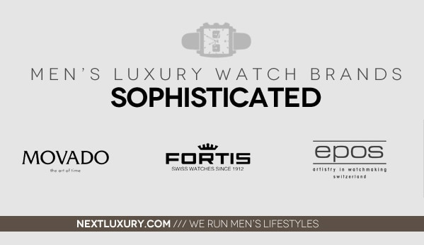 Sophisticated Luxury Men's Watch Brands