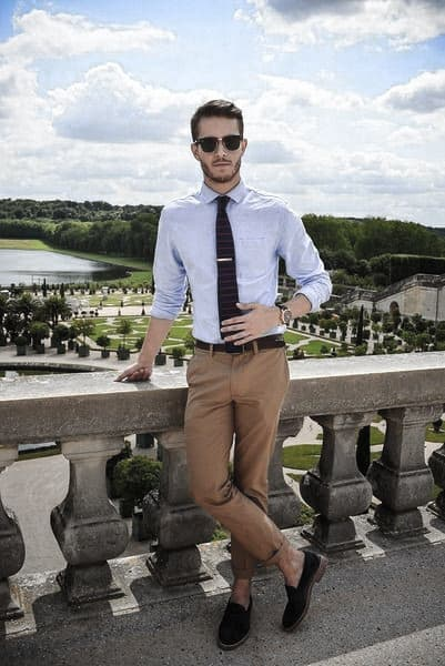 Sophisticated Male Khaki Pants What To Wear With Outfits Style Ideas