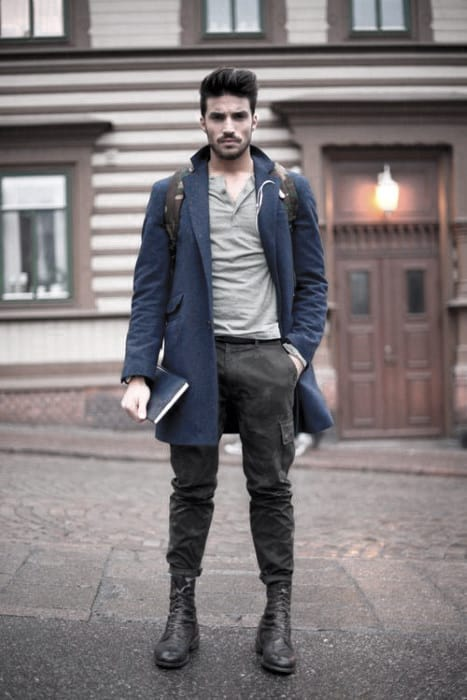 Sophisticated Male Winter Outfits Style Ideas