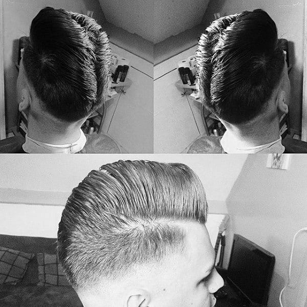Sophisticated Mens Ducktail Haircuts