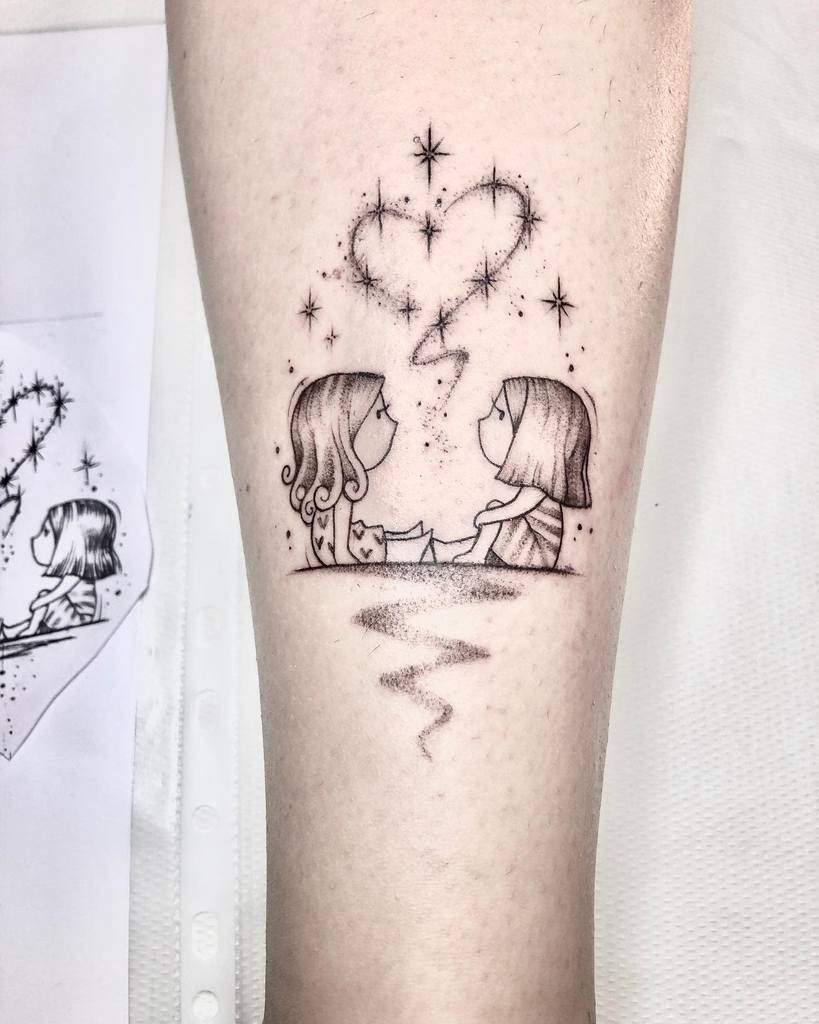 sorellanza-minime-amor-love-fineline-sister-tattoo-ellyviola7
