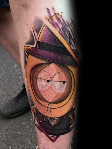 South Park 3d Realistic Themed Tattoo Design Inspiration