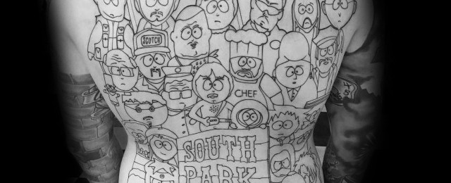 South Park Tattoo Ideas For Men