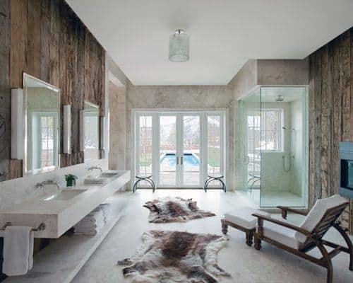 Spa Style Rustic Bathroom Ideas