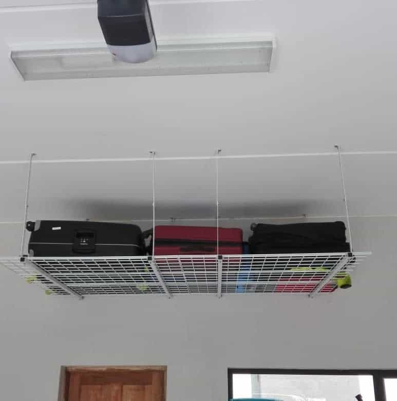 Space Saving Ceiling Hanging Garage Storage Mygarage Sa