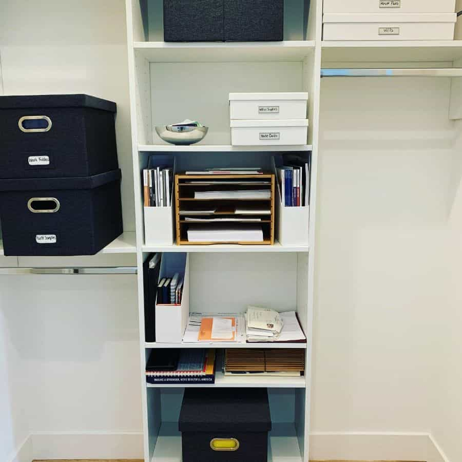 space saving office storage ideas conqueryourclutternj