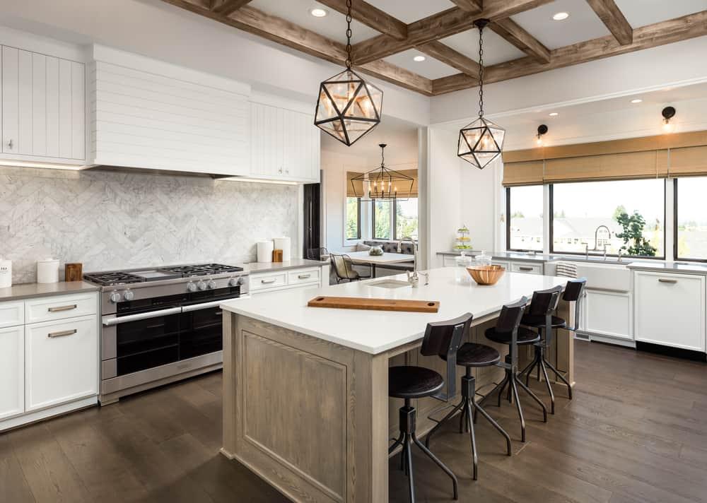 spacious farmhouse kitchen ideas 2