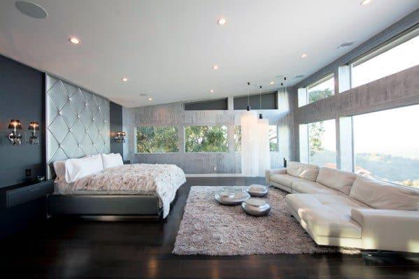 Spacious Master Bedroom Design Ideas