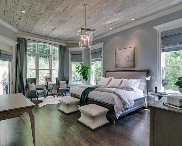 rustic or industrial bedroom lighting ideas