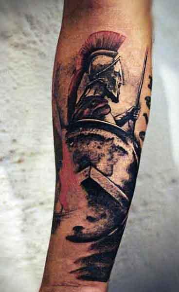 Spartan Tattoo Ideas For Men