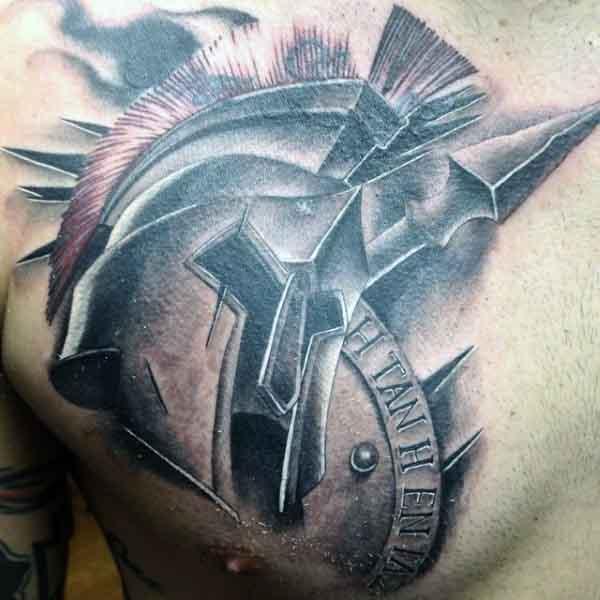 Spartan Tattoos For Men