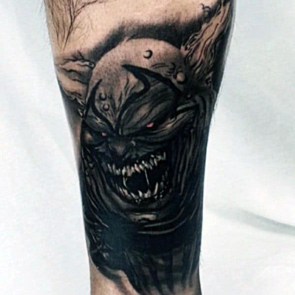Spawn Character Mens Arm Tattoos