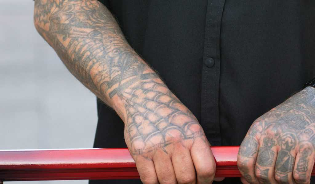 Spider Web Prison Tattoo
