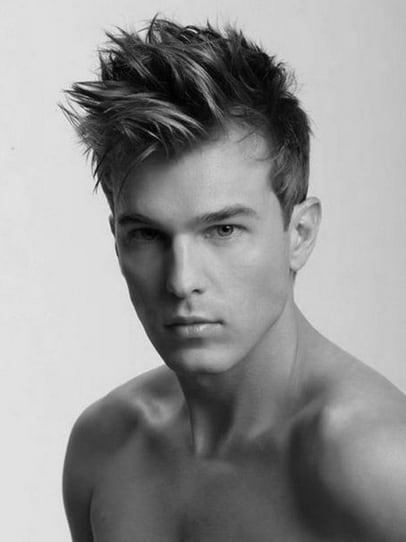 Spiked Modern Hairstyles For Men
