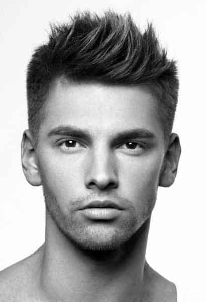 Spikey Mens Modern Hair Short Length