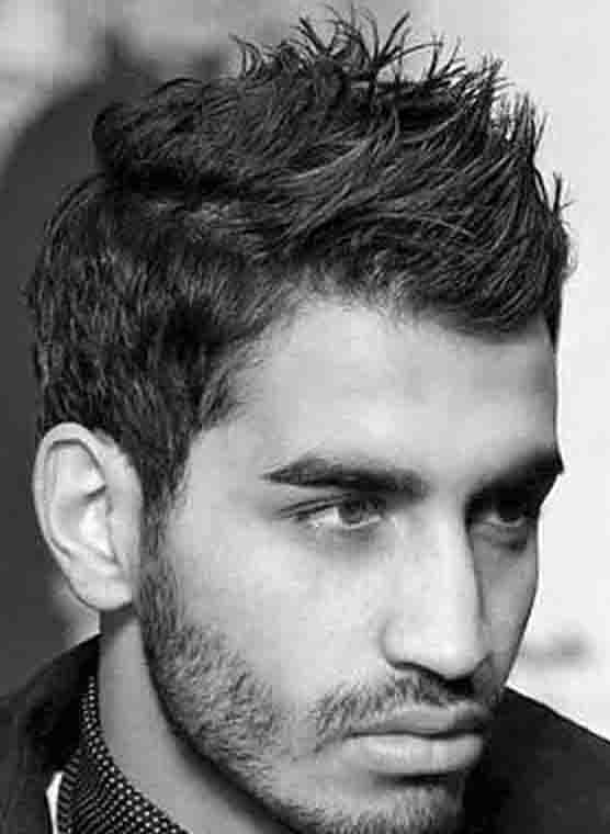 Spiky Hairstyle Look For Men
