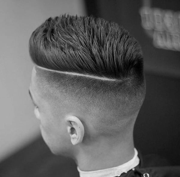 Spiky Male Haircuts Short Fades With Hard Part