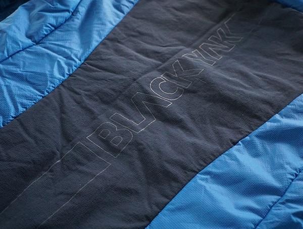 Spine Logo Detail Mens Blackyak Bakosi Jacket