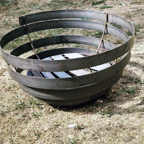 Spiral Designs Metal Fire Pits