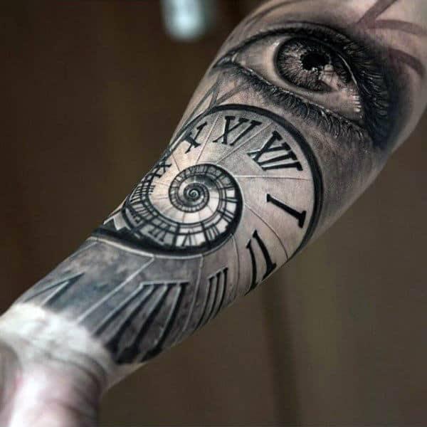 75 inner forearm tattoos for men masculine design ideas. Black Bedroom Furniture Sets. Home Design Ideas