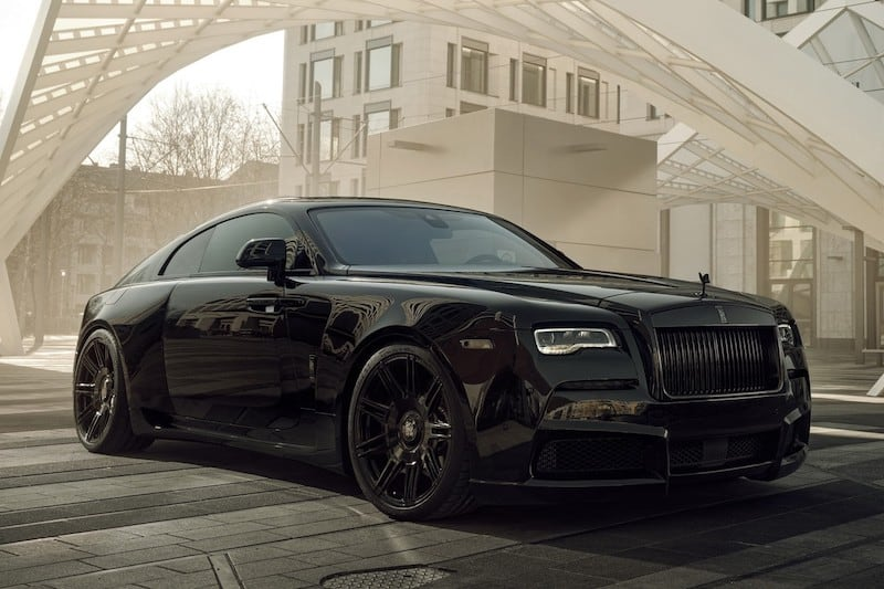 SPOFEC Give the Rolls-Royce Wraith an 'OVERDOSE' of Magnificence