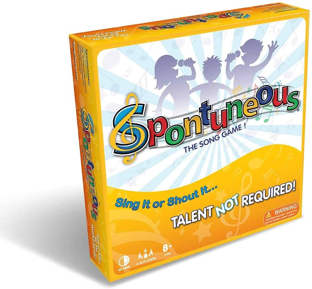 spontuneous the song game sing it or shout it