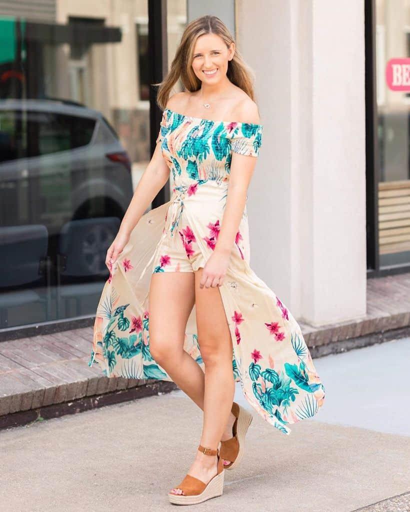 Tenue de croisière de vêtements de printemps